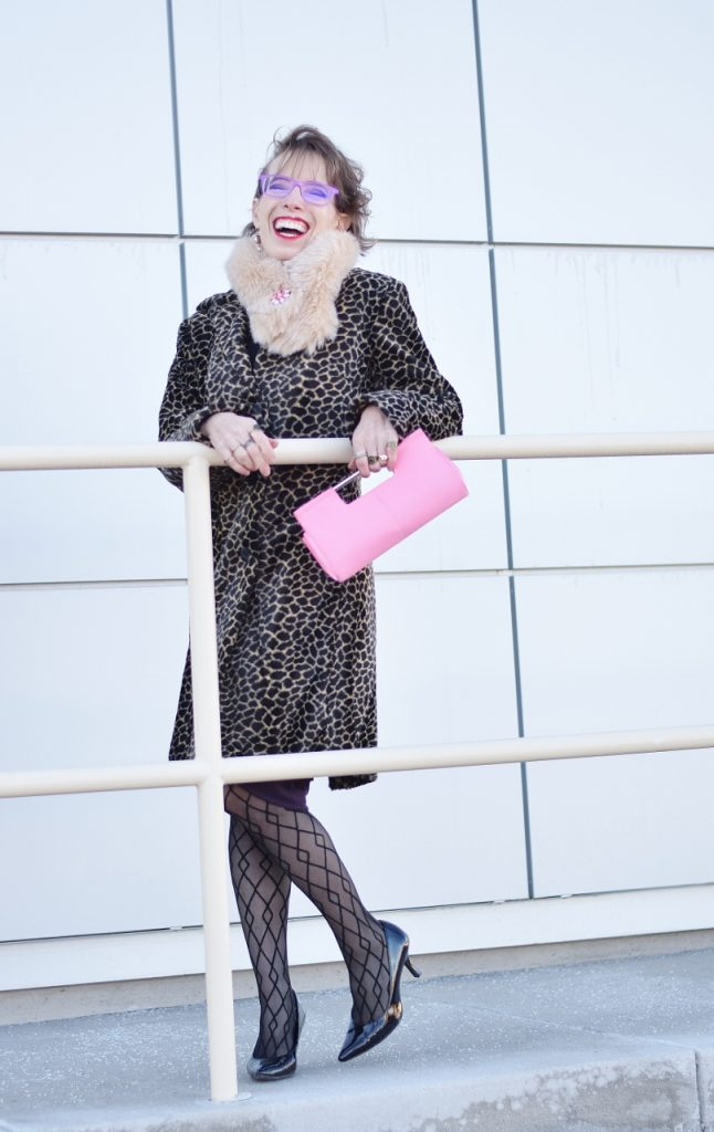 Leopard Coats for women over 50