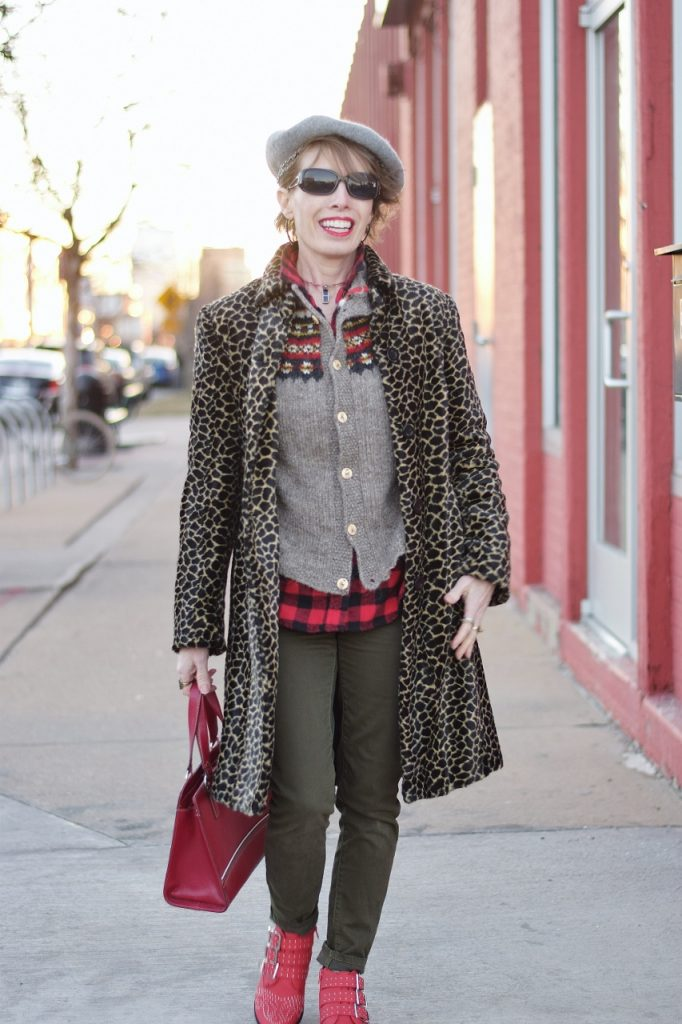 Leopard coats for Women having fun with style