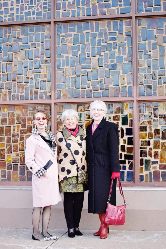 Layer your long coat for women of 3 generations