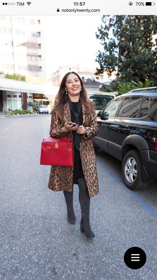 Rita's leopard coat