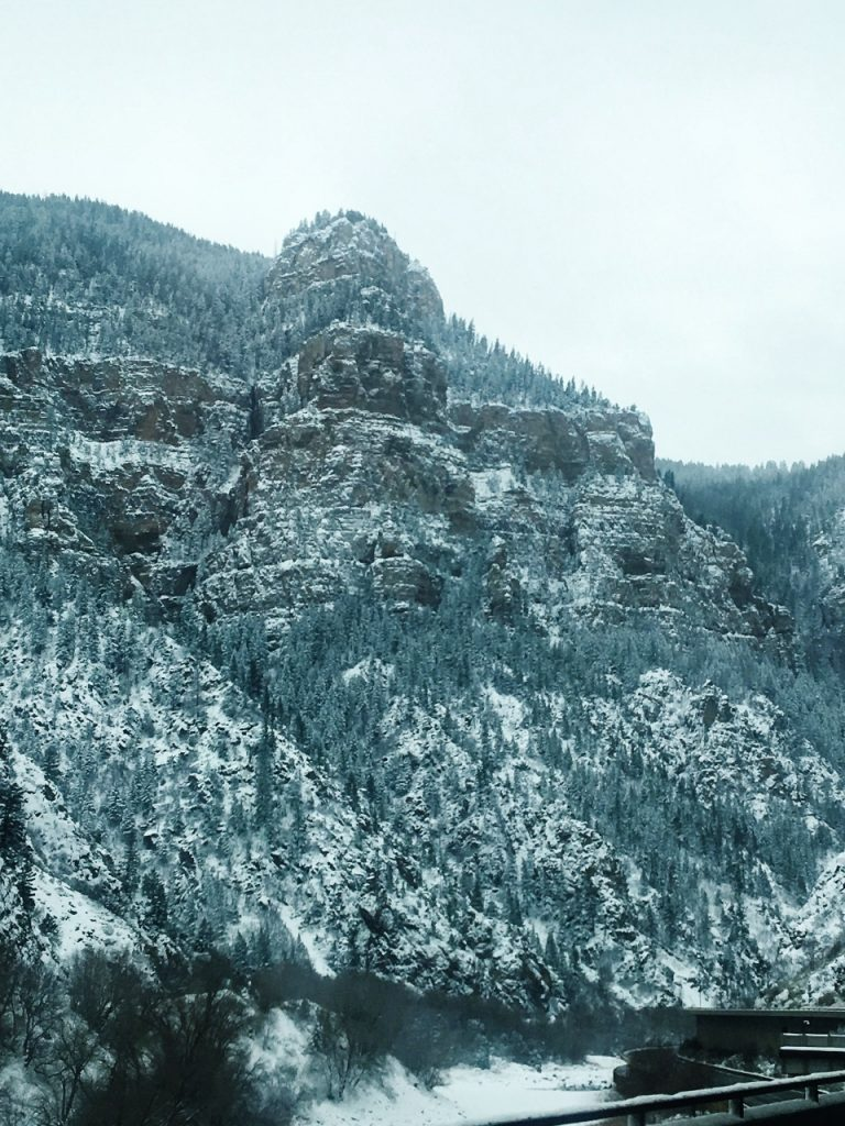 On the way to Glenwood Springs