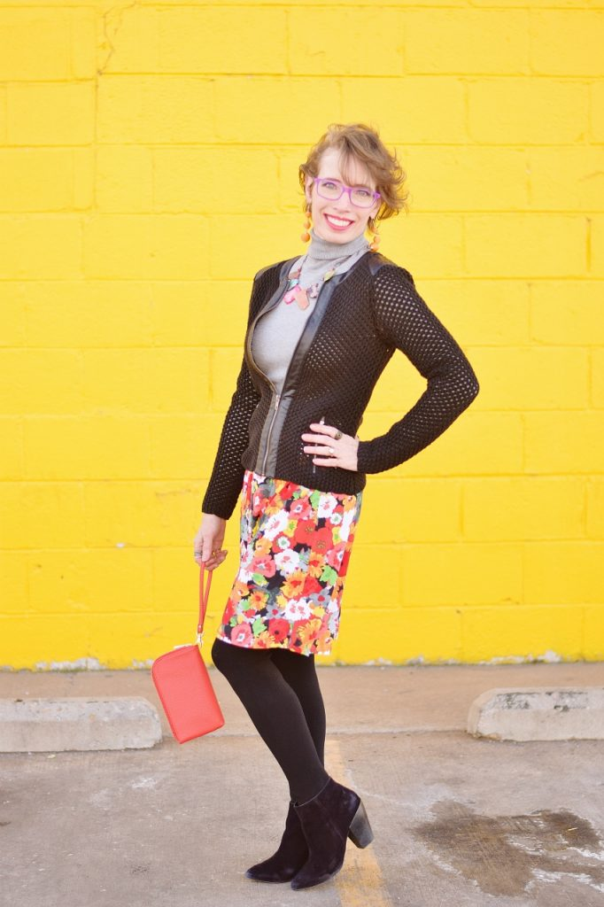 Reusing fabric for a skirt