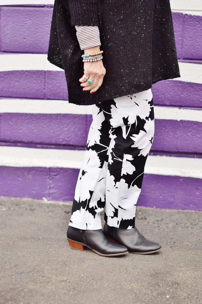 Taking Room Inspiration for an older women's look