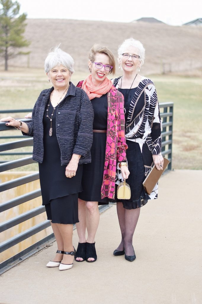 Wearing our Little Black Dress for the Spring for different age groups