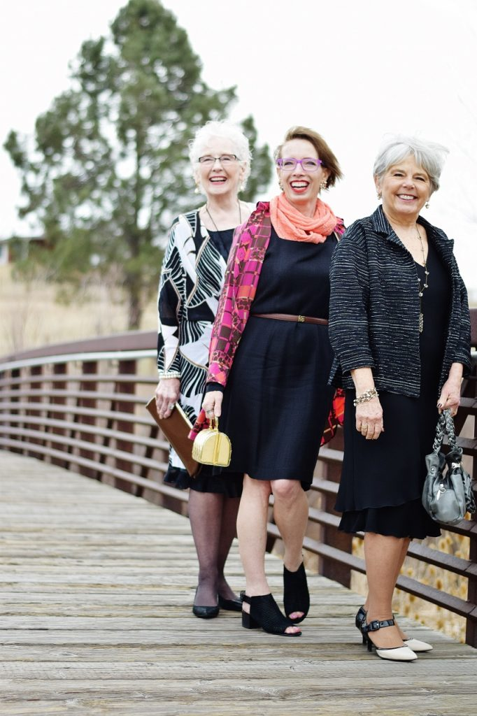 How to Style the Little Black Dress for the Spring for women in midlife