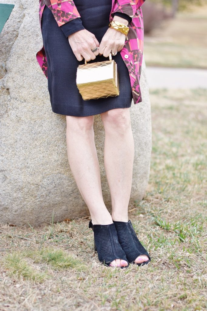 How to Style the Little Black Dress for the Spring with color