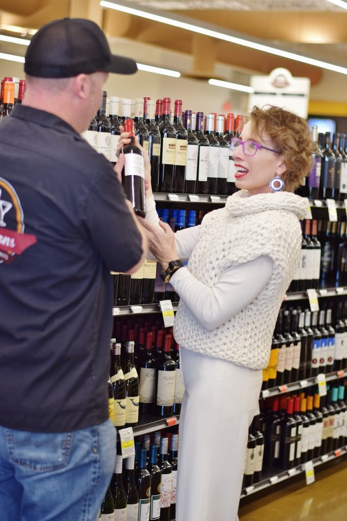 March days at Davidson's Liquor Store