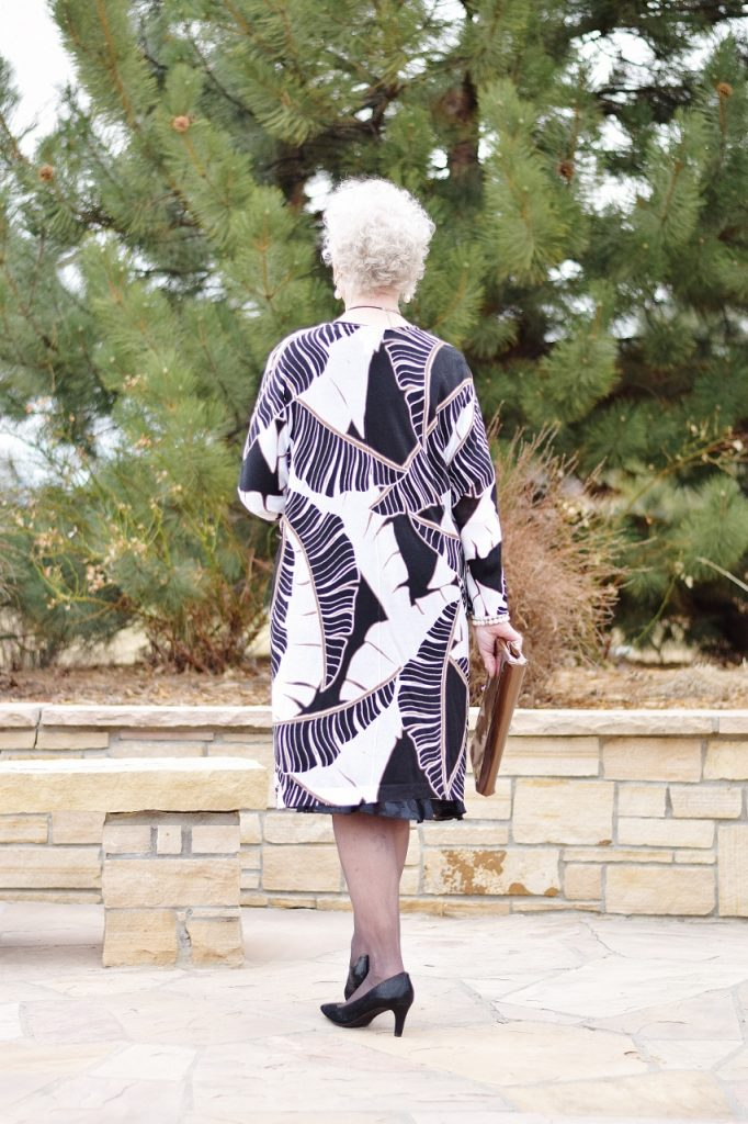 Little Black Dress for the Spring worn by women over 80
