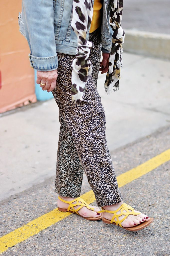 Styling yellow items for women over 60
