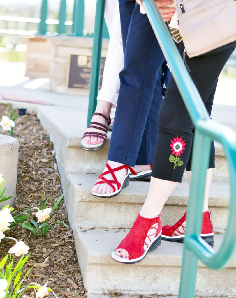 Variety of Summer sandals from Jambu for comfort