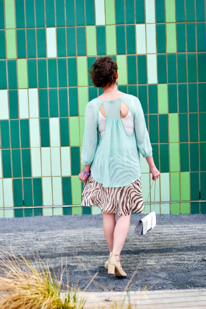 Styling a problematic piece for women over 50