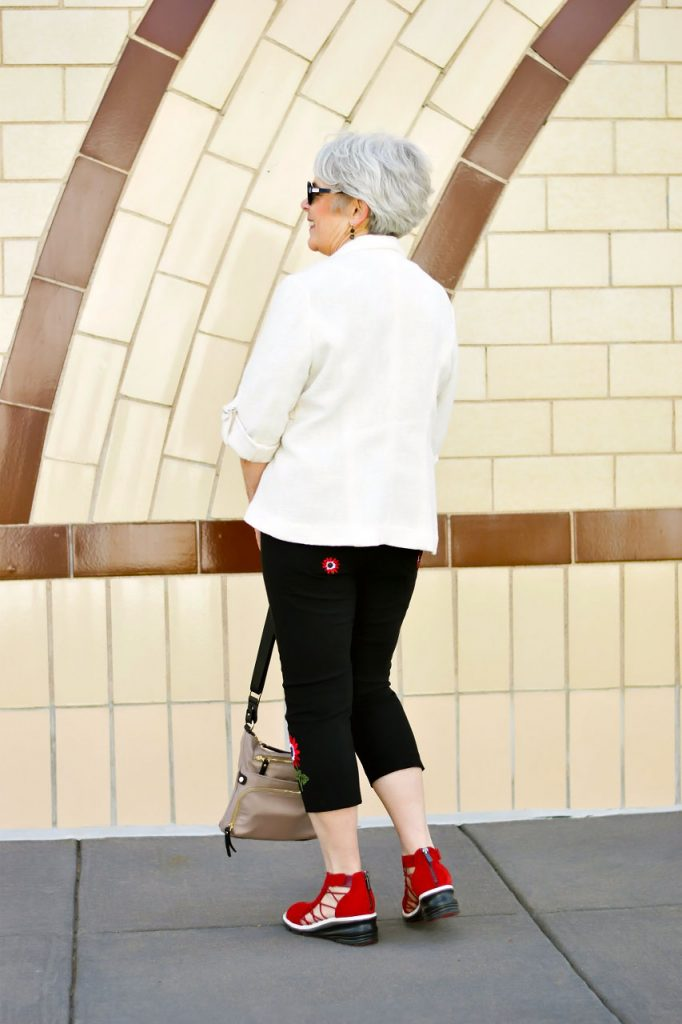 Styling Summer sandals for women over 60
