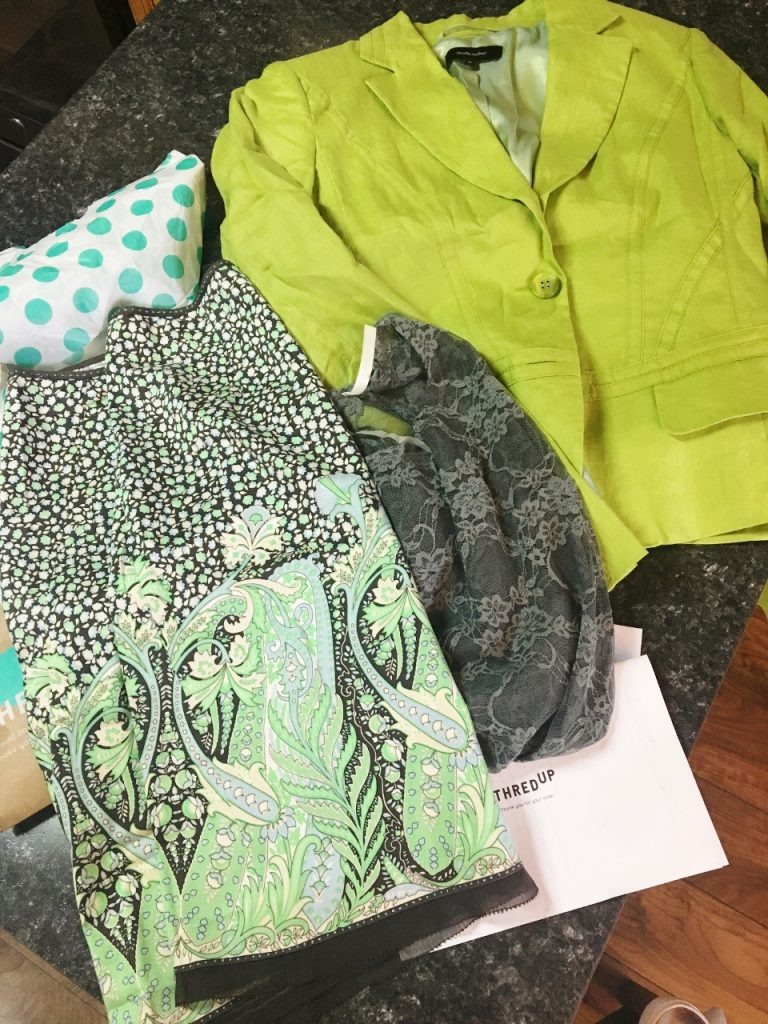 thredUp purchases in May