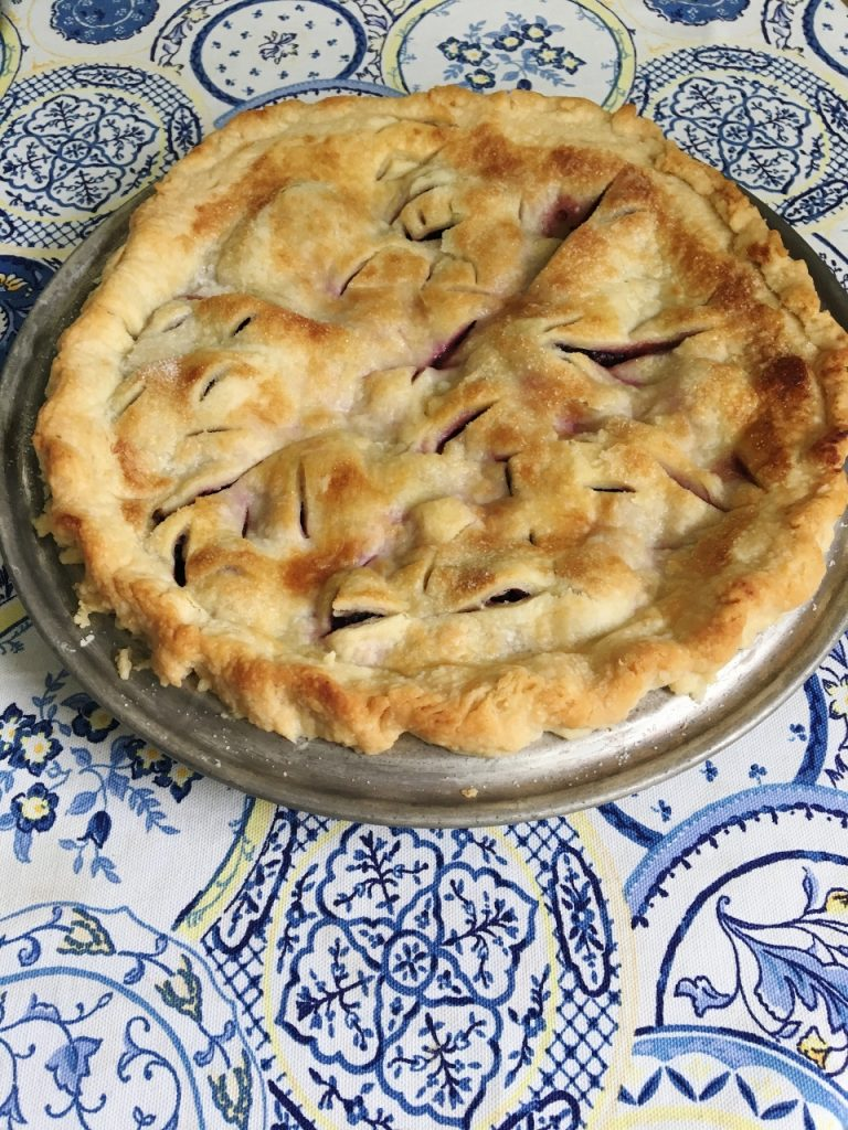 Homemade Pie in May