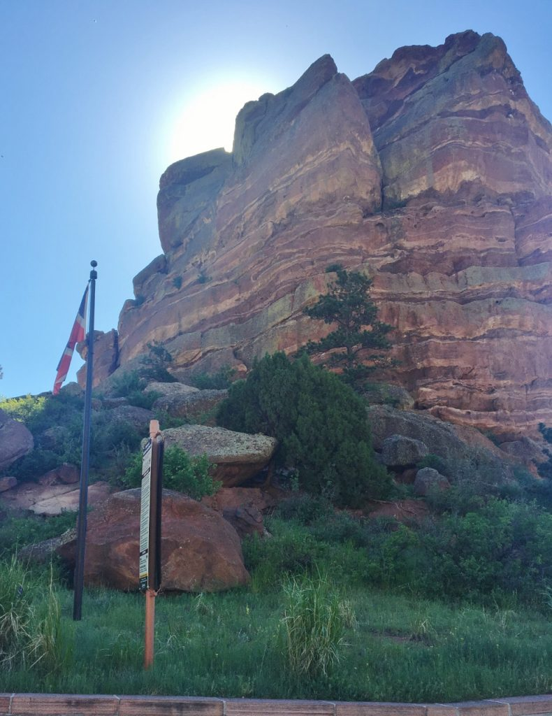 Red Rocks on a May morning