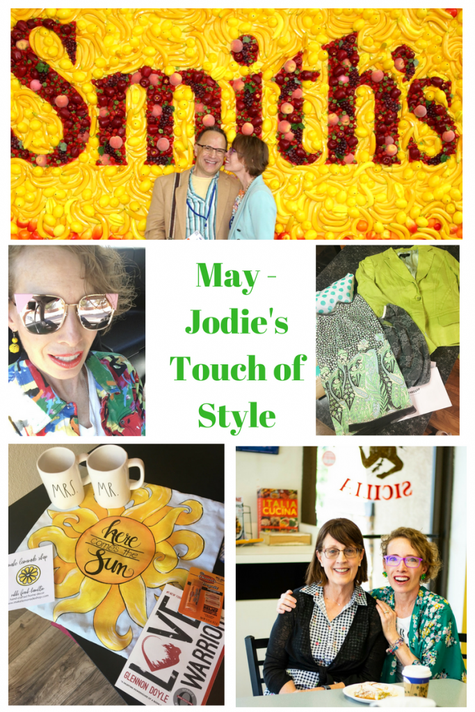 The Month of May collage