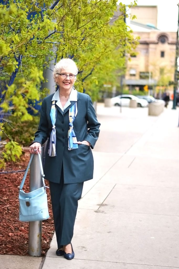 Styling suits for women over 80
