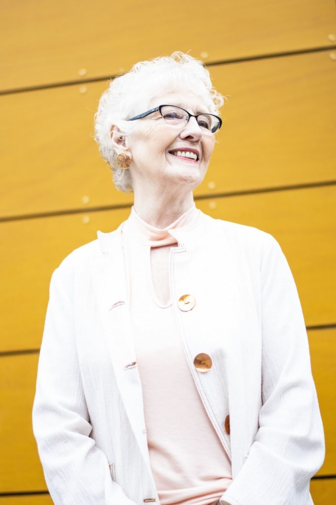 Styling our minimalist top on a 80 year old on Jodie's Touch of Style