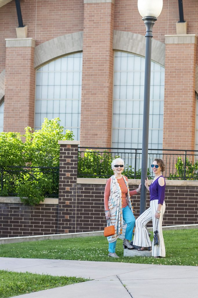 How to style summer material for midlife women