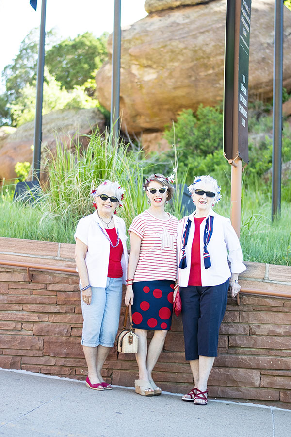 Styling 4th of July outfits for women over 40