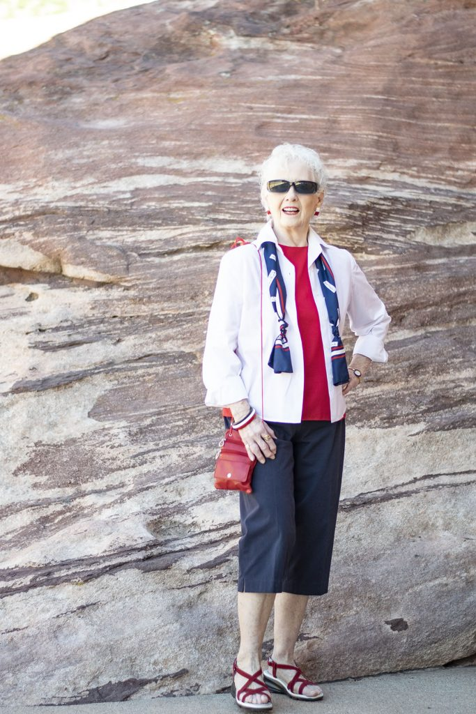 Wearing 4th of July outfits for women over 80