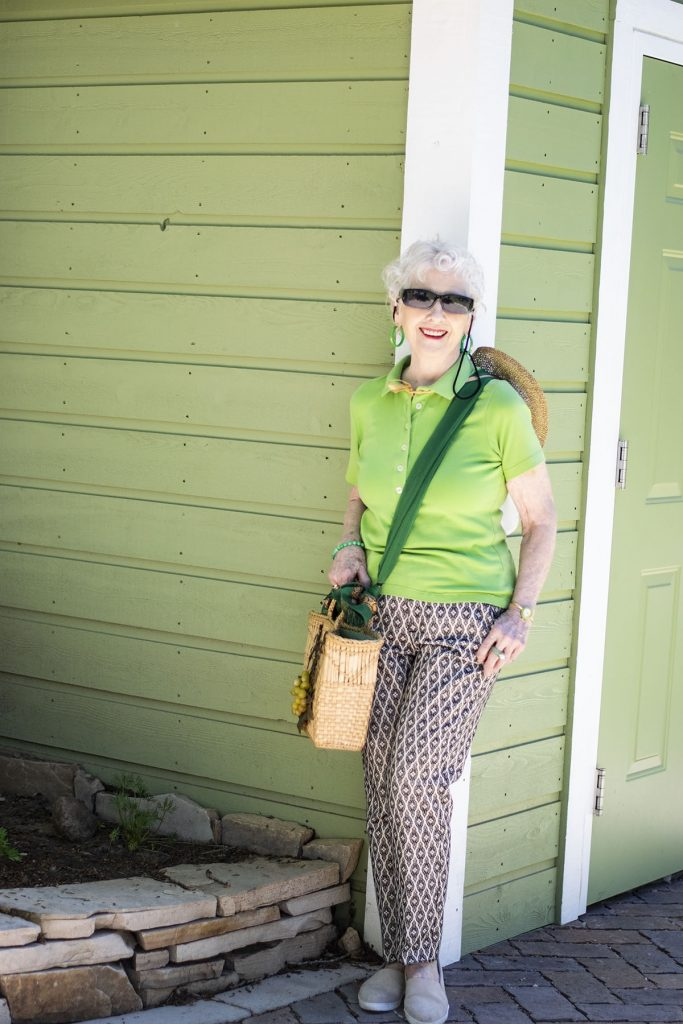 Ladies polo shirts made stylish for women over 70