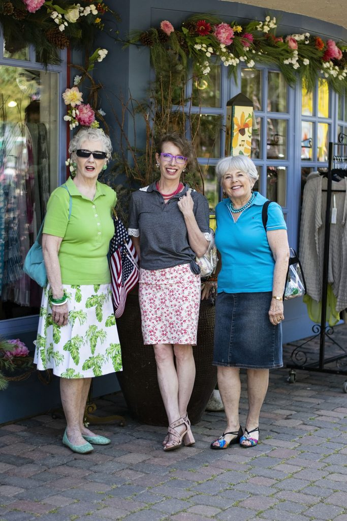 50cd0ecebe6 How to Dress Up a Polo Shirt for Women over 50 in Vail