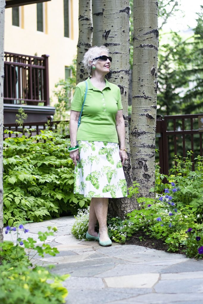 How to Dress up a Polo Shirt stylishly for women over 70