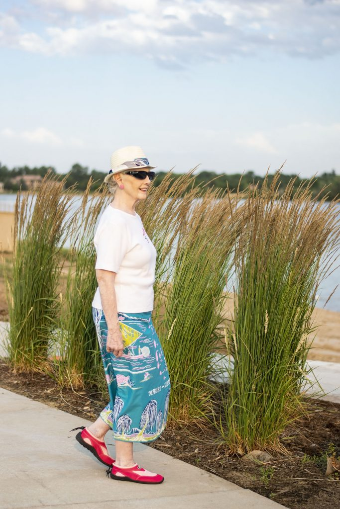 What to wear to the beach for women over 50 without wearing a bathing suit