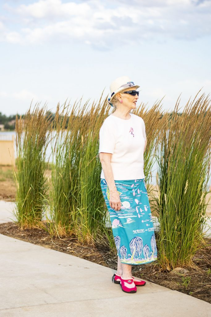 What to wear to the beach for women over 50 without wearing a swimsuit