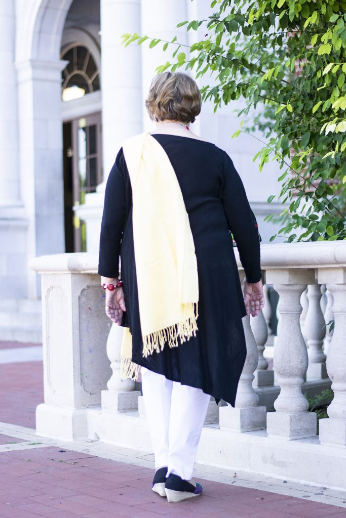 Styling a high school reunion outfit for women for the dress up occasion