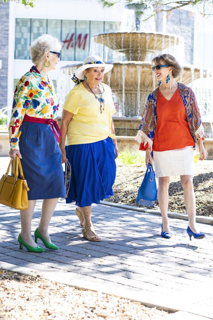 How to incorporate Bright colors for summer in our outfits for women over 50