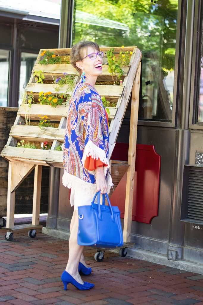 Pairing Bright colors for summer in our outfits for women over 50