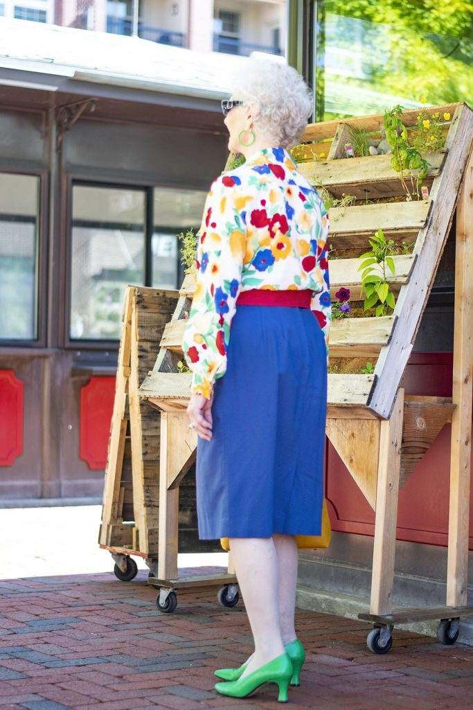 Combining Bright colors for summer in our outfits for women over 80