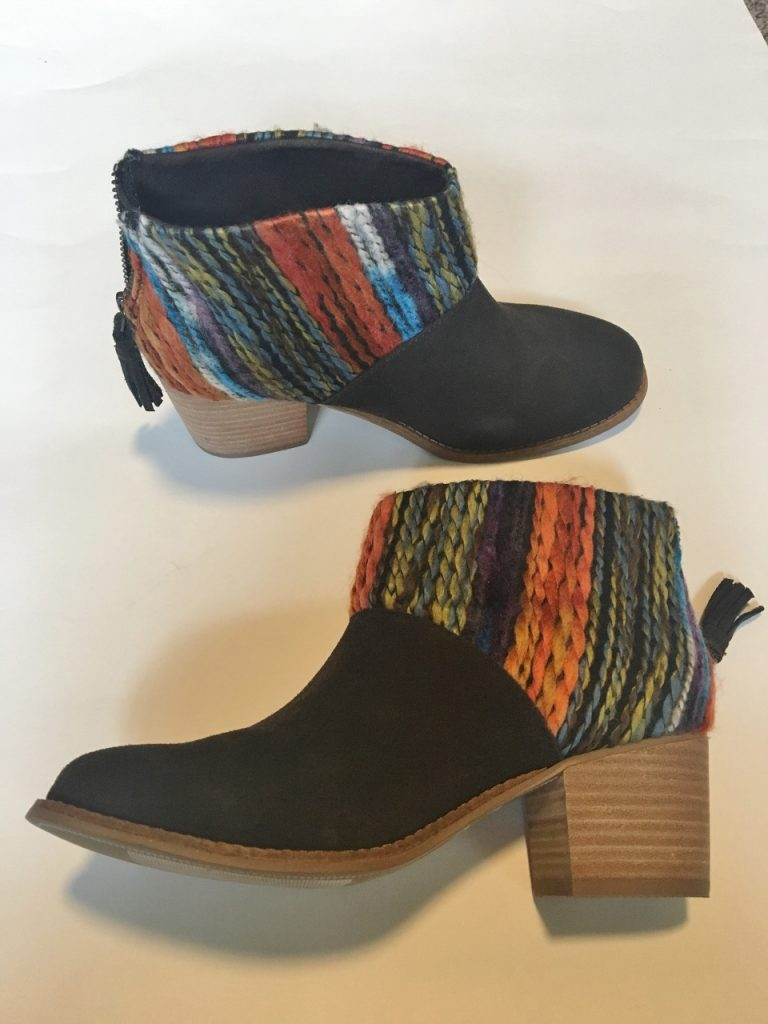 New booties in August