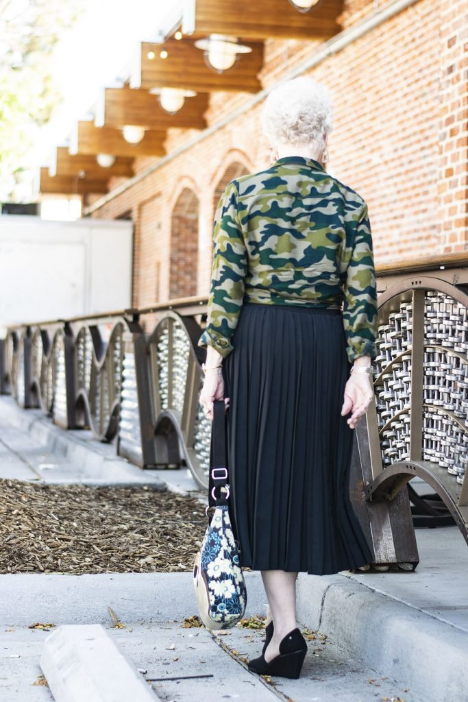 How to style camo outfits for women over eighty