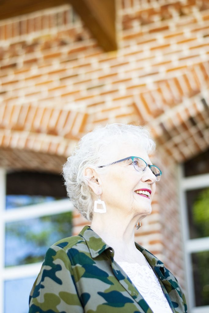 How to style camo outfits for women over 80