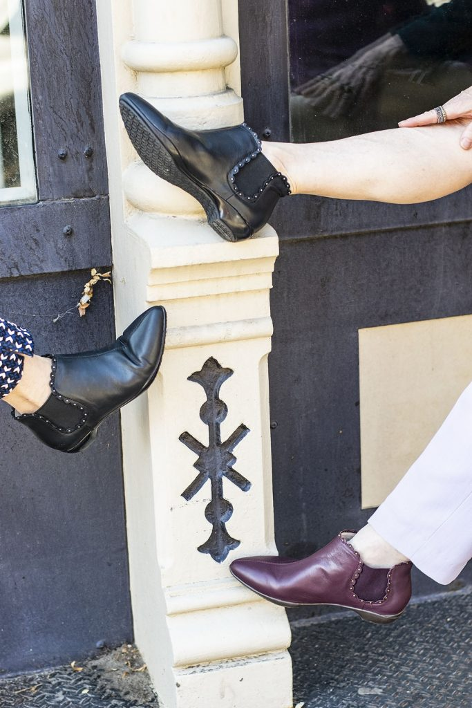 Can you style fall outfits with comfortable booties for women from Jambu