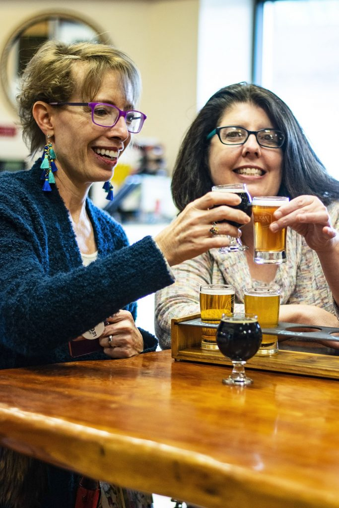 Alaska shore excursions in Juneau at a brewery
