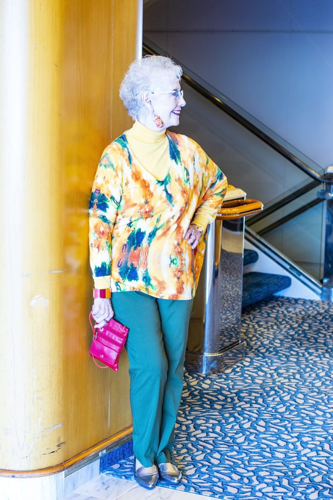 Cruise travel outfits for women with pants