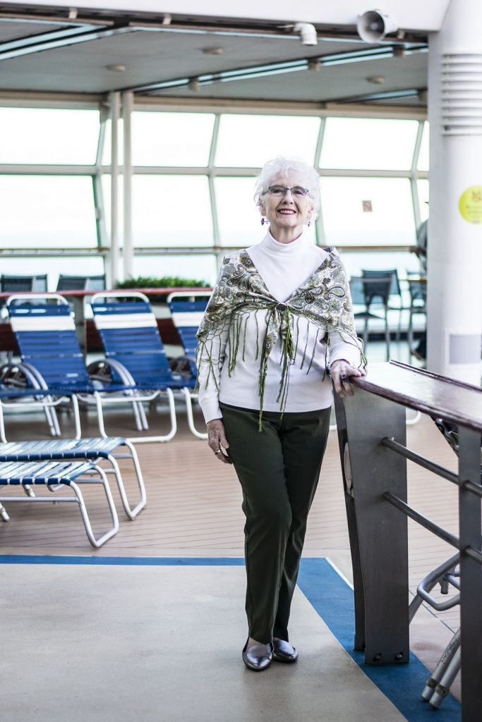Cruise travel outfits for ladies over eighty