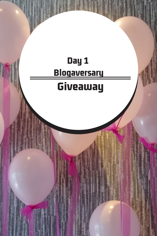 Day 1 A week of giveaways for my 4th blogaversary for Jodie's Touch of Style