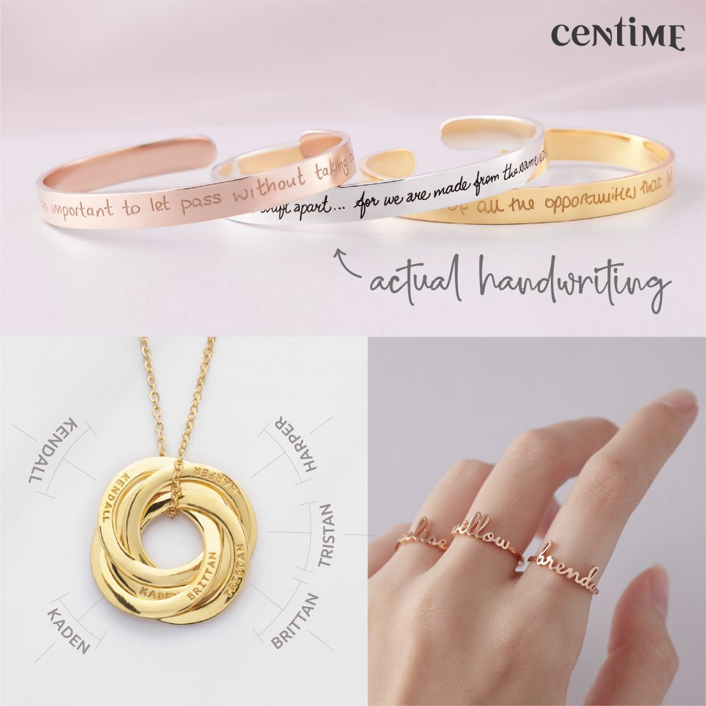 4th Blogaversary giveaway for Jodie's touch of style with Centime Jewelry