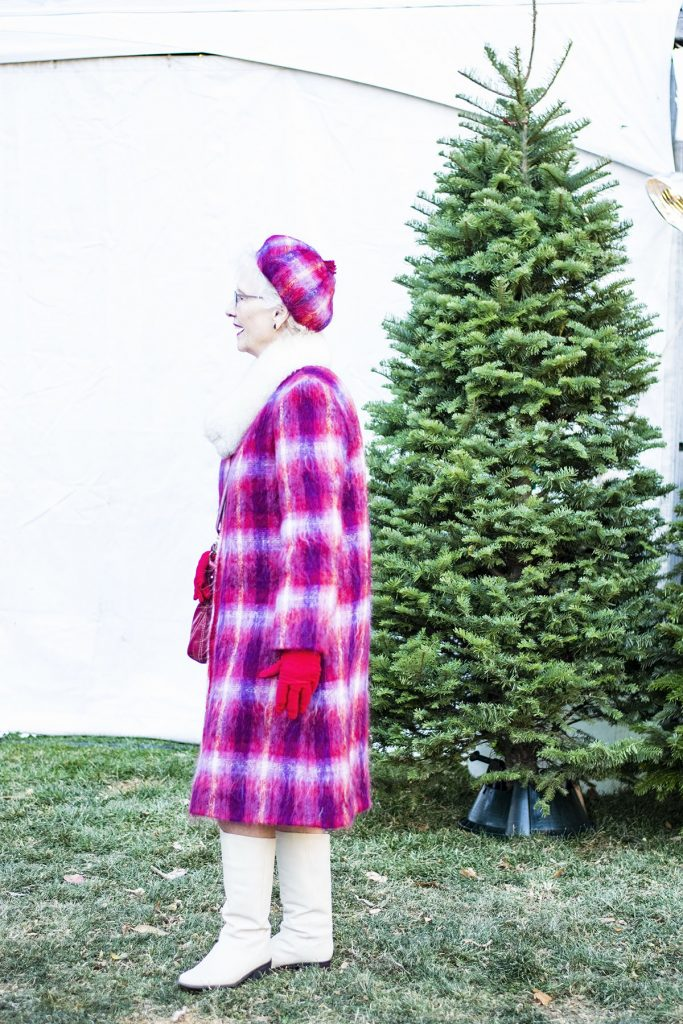 How to wear holiday coats and jackets a plaid coat