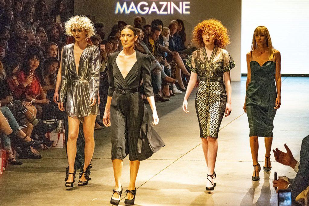 Runway fashion at Denver Fashion week runway show