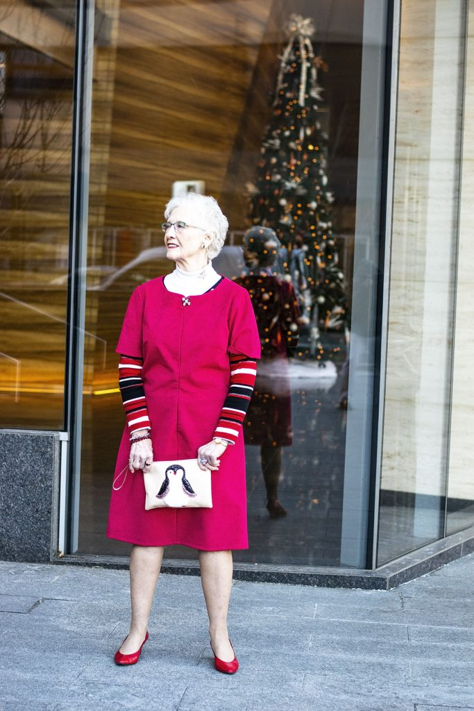 What to wear to a Christmas Party for women over 80