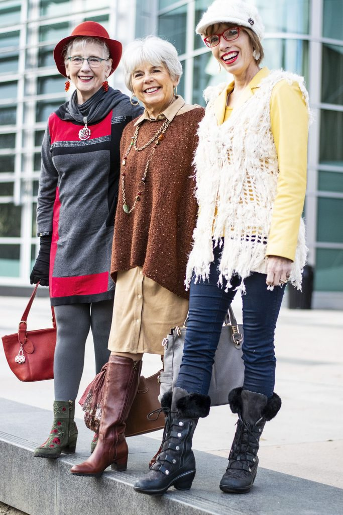 How to style comfortable boots for women over 50