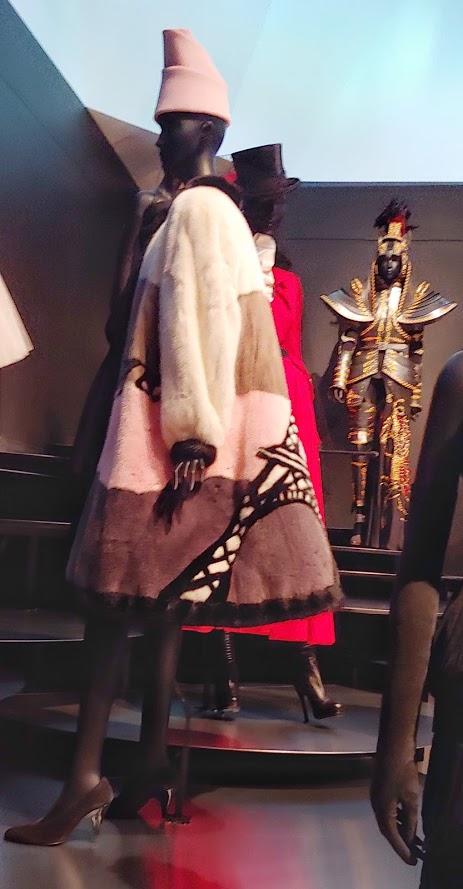 Displays at the Dior Exhibition in Denver