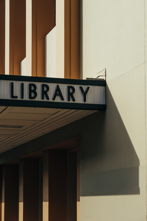 saving money by using the library