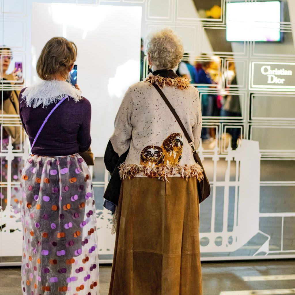 Women over 40 Dior exhibition in Denver, Colorado